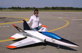 Kit SCORPION HENRI PEREZ - RC Jet model - Aviation Design